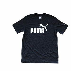 Puma Blank and White Graphic T-Shirt